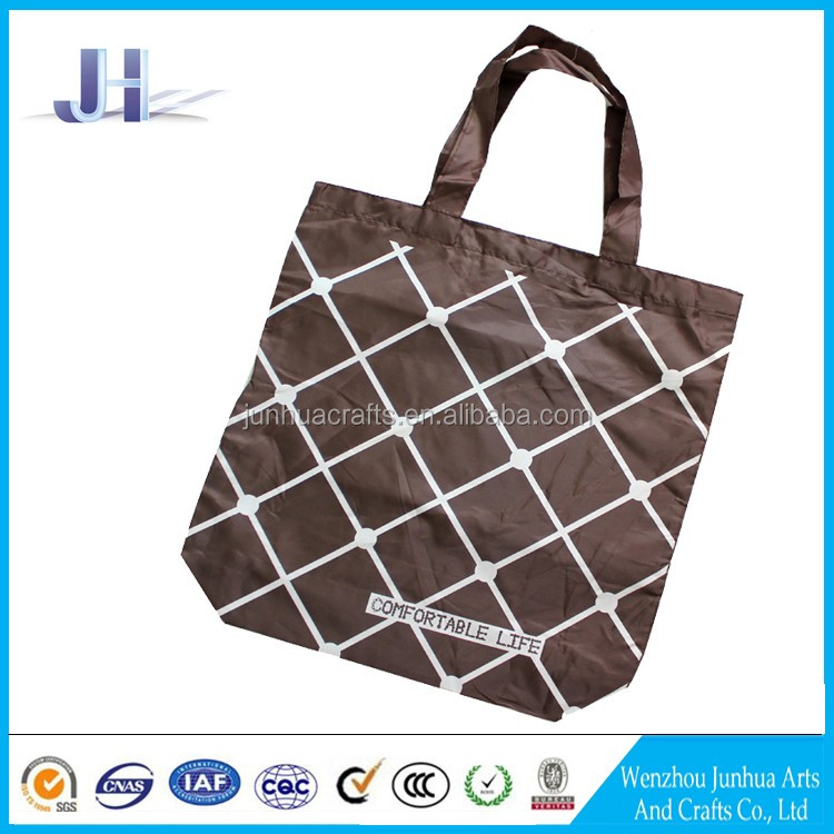 Oem/odm high quality polyester nonwoven compact reusable shopping bag manufacturer