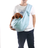 Hands-free soft Reversible Pet sleeping Sling Carrier Bag for Small Medium Cats and Dogs