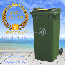 JIE BAOBAO! FACTORY MADE PLASTIC HDPE 240L MAERSK SELLING USED CONTAINERS