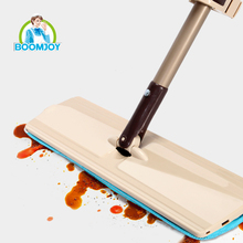 TV Shopping Household Dust Micro-Flex Cleaning Perfect Mop with Roll Srub Water Squeegee Lazy Mop