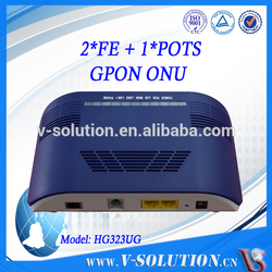 Optical Fiber Router FTTH GPON ONU Smart Home Gateway with 2FE+1FXS ports