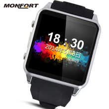 waterproof android jav Wrist watch mobile phone smart watch bluetooth phone