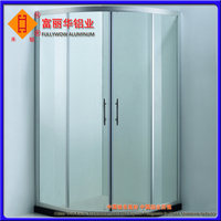 Latest Commercial Used Aluminum Door for Bathroom and Front Door