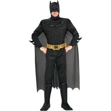 Cool Stylish Classic American Hero Bat Man Cosplay Costume For Men Party Idea