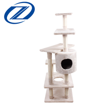 Factory Wholesale Guaranteed Quality Luxury Wooden High Cat Tree House
