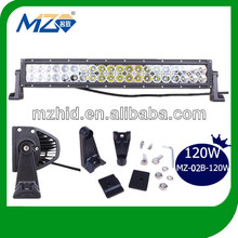 new 2017 Led 120W LED Light Bar for off road heavy duty, indoor, factory,suv military,agriculture,marine,mining work ligh