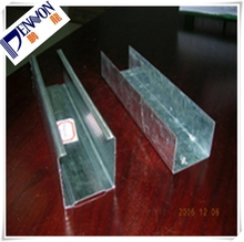 Galvanized Steel Drywall Partition System Stud and Runner