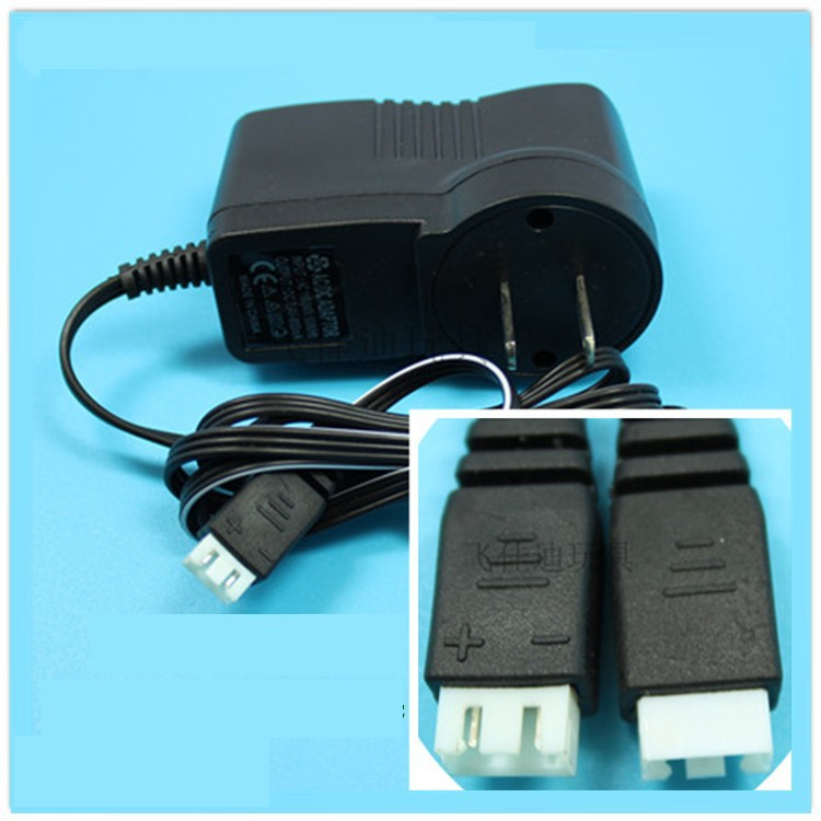 7.4V charger adapter rc spare parts accessories for MJX F45 F-45 F645 RC Helicopter spare part mjx f45