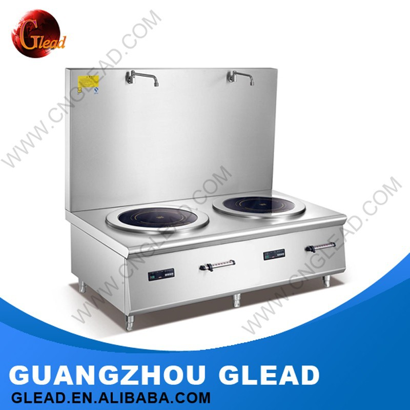 Restaurant Professional Counter Top industrial induction lpg gas electric combination cookers