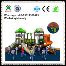 Safety padded playground QX-026A/ china supplier outdoor playground/ outdoor playground for kids