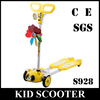Aluminum kick self balance pushing scooter for kids