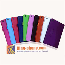 Litchi Pattern PU Leather Wallet Phone Case For ipad5
