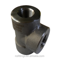 SS 316L CS A105 ASME B16.11 9000lbs 6000lbs thread fittings 90degree Elbow Tee Union Cap Coupling Street elbow