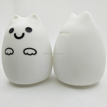 New Design Money Boxes Plastic PVC Material cat Shaped Piggy Bank