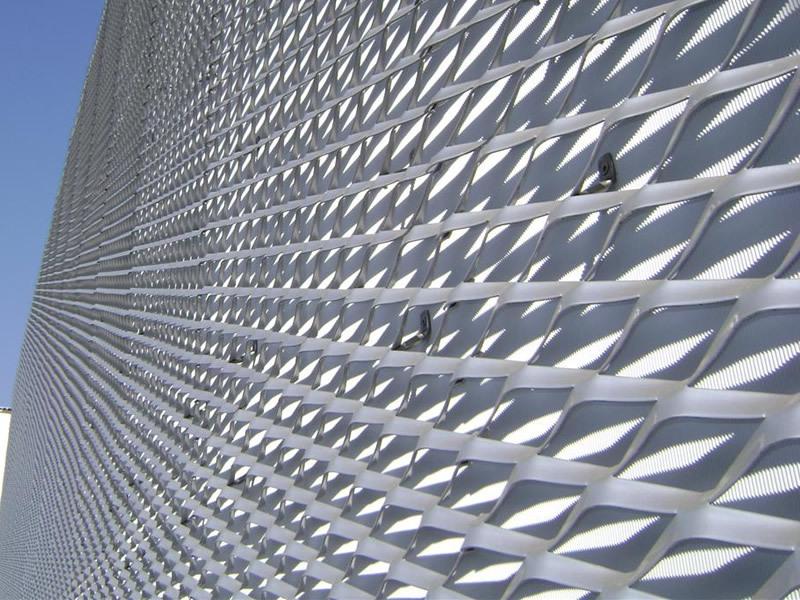 Metal Wire Mesh Facade Cladding Brickwork Reinforcement