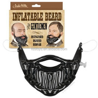 Lovely inflatable beard toys for fun