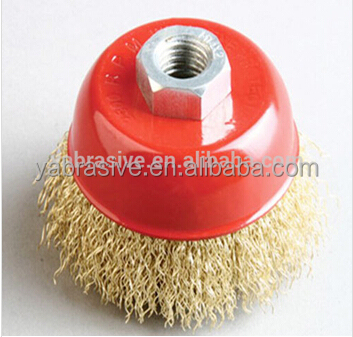 abrasive wire cup brush