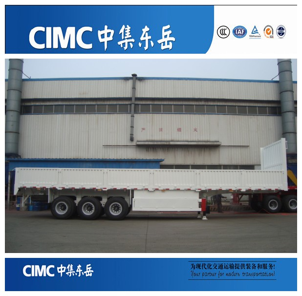CIMC dongyue factory sales 40 tons cargo semi trailer