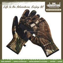 Waterproof outdoor tactical lightweight hunting camouflage gloves