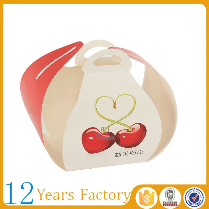 Wholesale cheap paper cupcake take away box