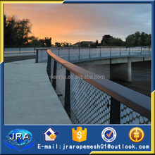stainless steel bridge railing decorate rope mesh