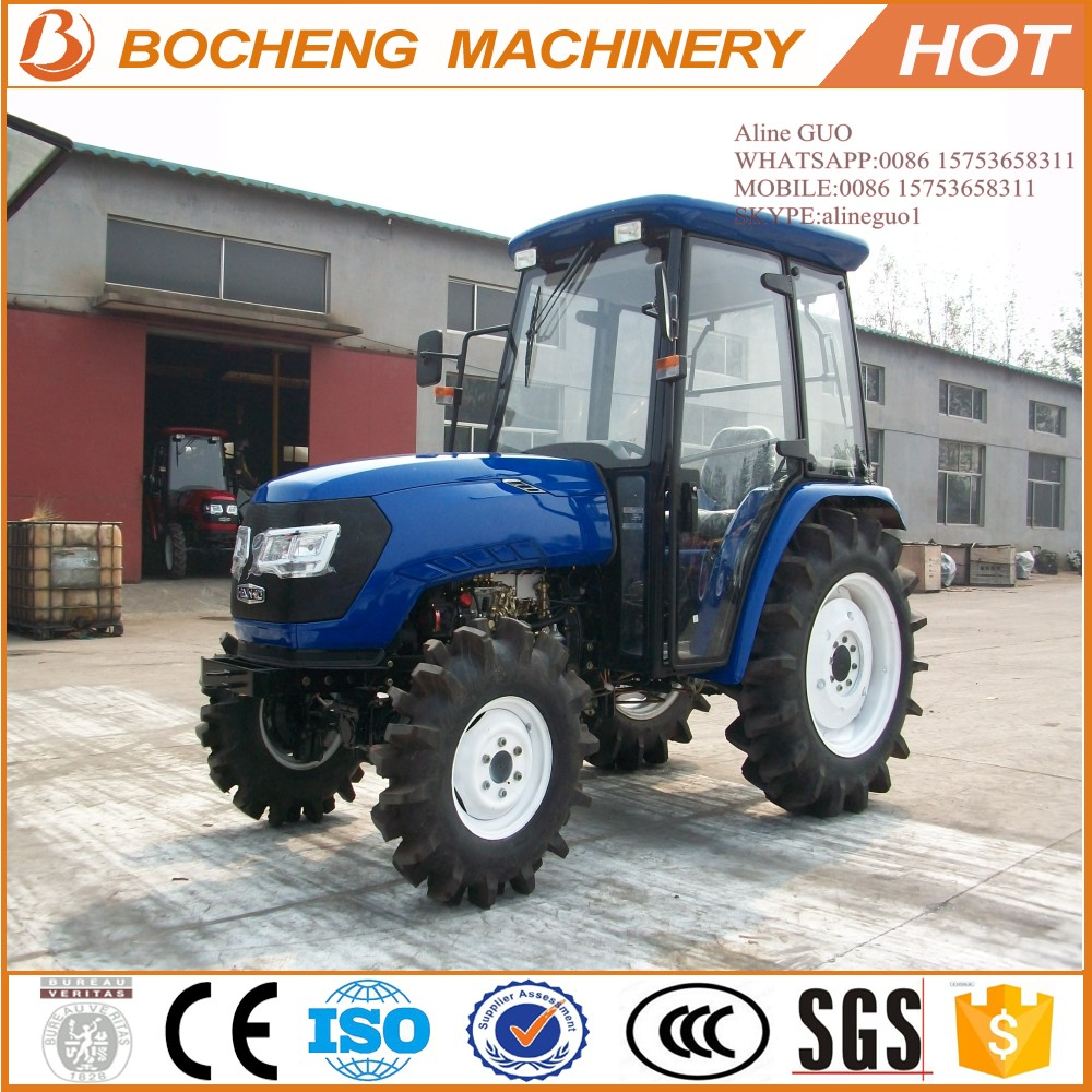 2015 Hot sale ! China agricultural machinery 55HP farm tractor with AC cab