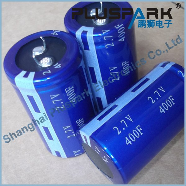 Snap In Super Capacitor 2.5V 400F,Electic Double Layer Capacitor