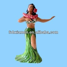 Sexy Dancing Hula Girl Figurines