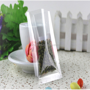Food Safe Transparent Vacuum Sealed Packaging Bag for Compressed Food