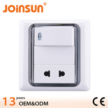Zhongshan joinsun wall electrical socket,wall outlet dimensions
