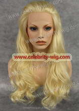 Best sale ready delivery synthetic blonde curly hair afro wig