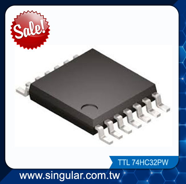 74HC32PW Quad 2-input OR gate component