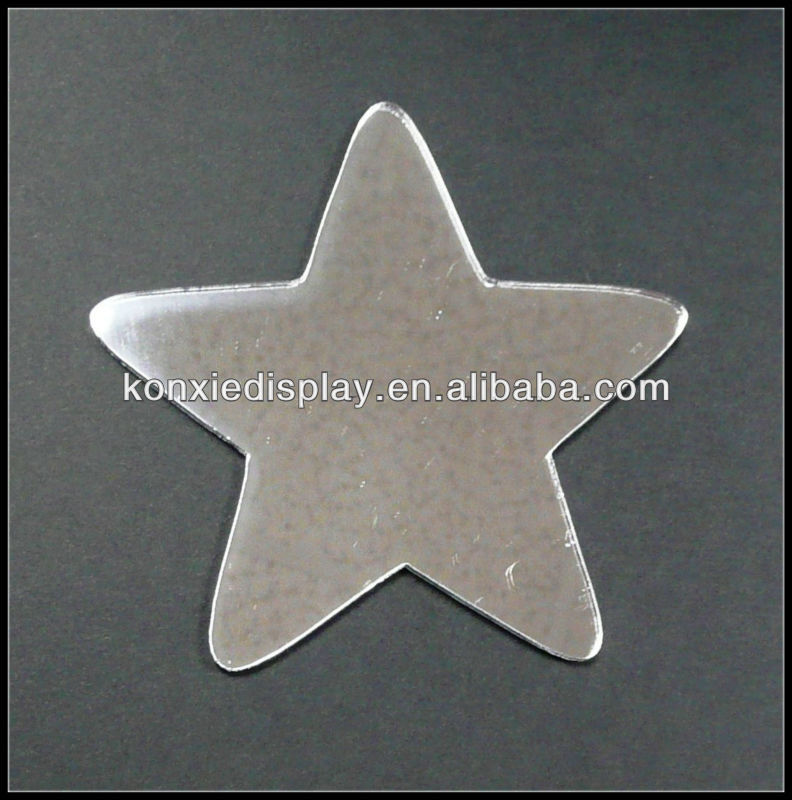 Customize Types Of Acrylic Star Shape Mirrors