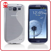 Ultra Clean Slim Fit S Line Wave Soft TPU Case for Samsung Galaxy S3