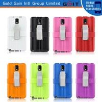 [GGIT] New arrival for samsung galaxy note3 case,note 3 combo case with holster