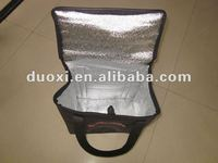 Recycled aluminum foil speaker cooler bag