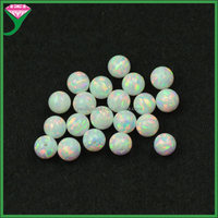 price of white opal stone ball shape round opal