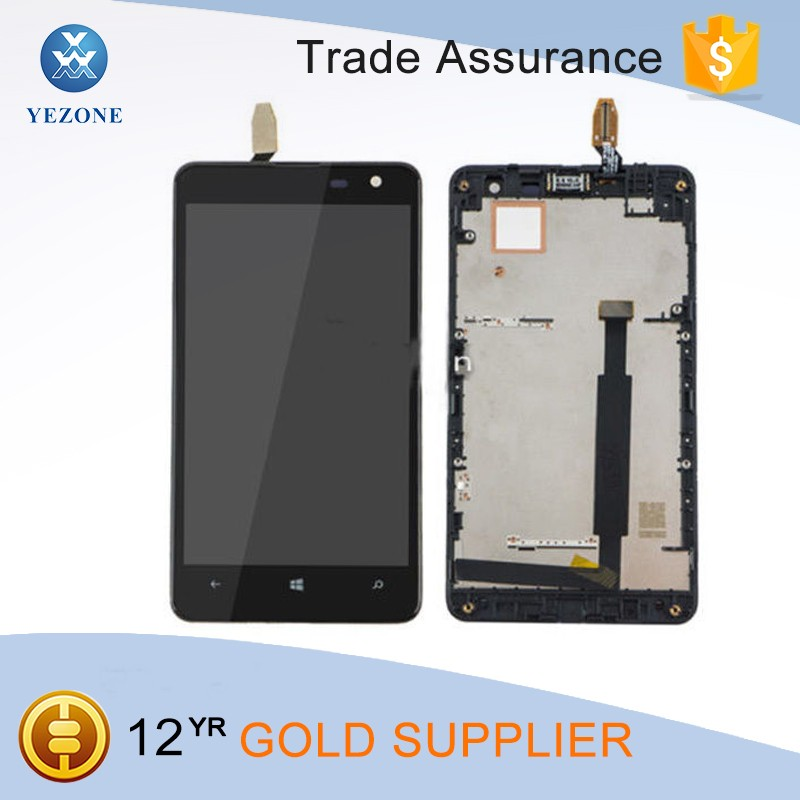 Factory Price Repair Broken Phone Lcd Display for Nokia Lumia 625 Screen Replacement