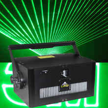 outdoor LED stage show green laser show 10W programmable sky writing laser light