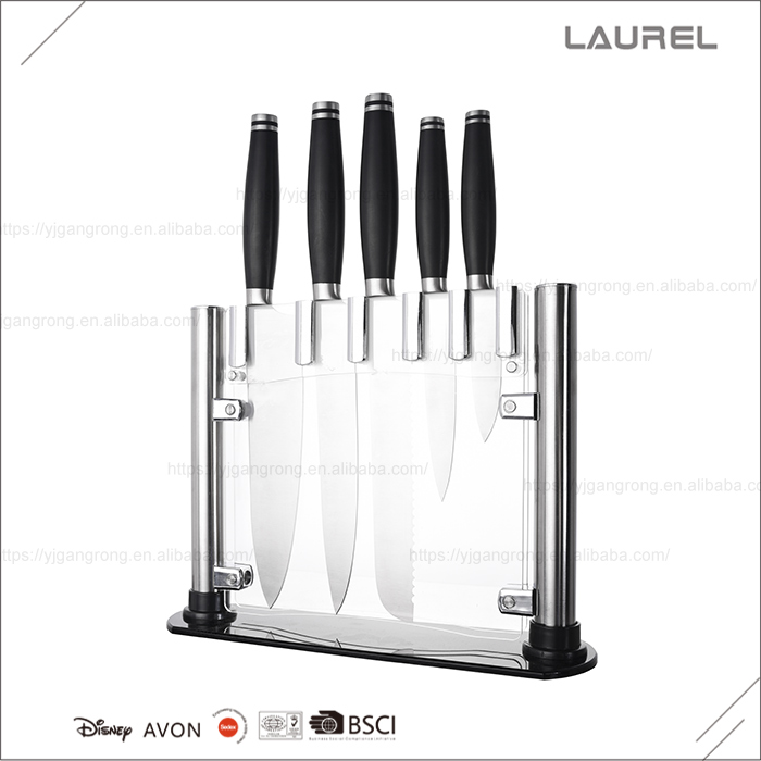 High quality stainless steel knife set able to withstand hot and cold temperatures