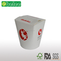 Disposable Take away noodle box food container round square base