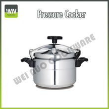 2016 hot sale aluminium pressure cooker with polishing finish outer and sanding finish inner 3L-15L