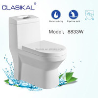 new desige saving water siphonic one piece toilet bathroom one piece ceramic types wc tolet bathroom sanitary wc toilet