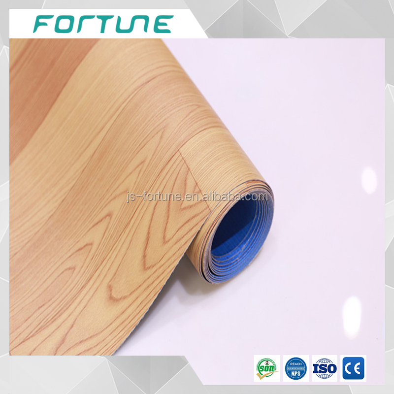 waterproof wear resistant anti-slip imitation wood pvc floor