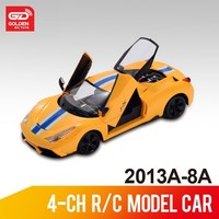 New product 1:12 5-ch rc scale model toy car with charger