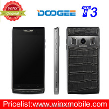 Original Doogee T3 4.7 Inch HD Dual Screen android 6.0 Mt6755 phone accessories mobile 4g smart mobile phone