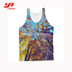 Men's gym tank top sports clothes gym singlets mens stringer tank top