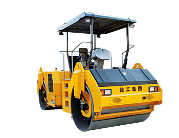 China 11 TON Tandem Drum Vibratory Road Roller XD111E