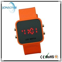 Non-toxic mirror face design your own led watch alibaba hot