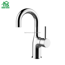 Fashion Chrome Brass Washing Sink Mixer Plumbing Bathroom Faucet